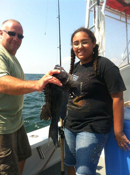 Fishing Rhode Island aboard A to Z